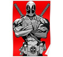 Deadpool B&W Poster