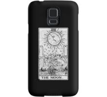 The Moon Tarot Card - Major Arcana - fortune telling - occult Samsung Galaxy Case/Skin