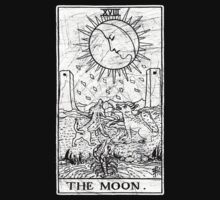 The Moon Tarot Card - Major Arcana - fortune telling - occult by createdezign