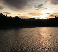 Sunset on the New Halen by heatherdawn6189