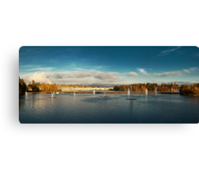 Oulu panorama Canvas Print