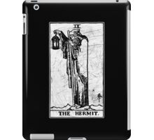 The Hermit Tarot Card - Major Arcana - fortune telling - occult iPad Case/Skin