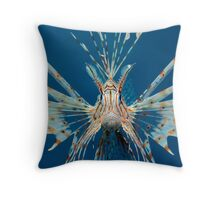 Threatening Gesture Throw Pillow