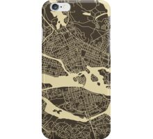 STOCKHOLM MAP iPhone Case/Skin