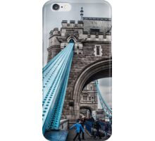 At the Foot of Tower Bridge iPhone Case/Skin