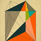 DISSECTION OF THE TRIANGULAR PRISM INTO 3 PYRAMIDS OF EQUAL VOLUME by JazzberryBlue