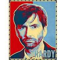 HARDY - RedYellowBlue (Broadchurch) Photographic Print