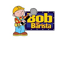 Bob the Barista... Photographic Print