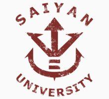 Saiyan University - Red version by Pixeltees