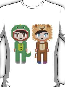 Pixel Amazingphil and Danisnotonfire T-Shirt