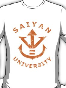 Saiyan University - Gold version T-Shirt
