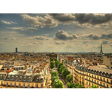 Paris Vista Photographic Print