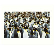 Penguin Power Art Print