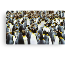Penguin Power Canvas Print