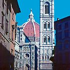 Cathedral, Florence, Italy by Priscilla Turner