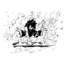 ONE PIECE: 2nd Gear Luffy by TeemoTaylor