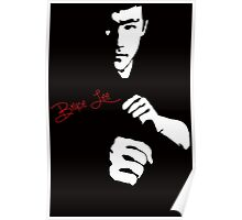 Stencil Bruce Lee The Dragon Awaits Poster