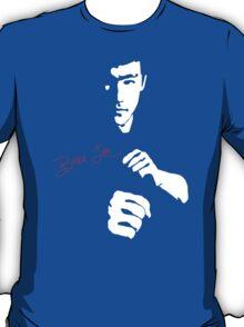 Stencil Bruce Lee The Dragon Awaits T-Shirt