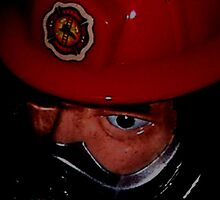 Fireman Closeup by enigmatic