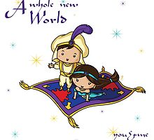 A Whole New World by yoshe