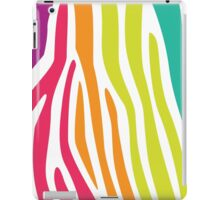 Tropical Zebra iPad Case/Skin