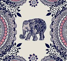 Pretty Pink Elephant  by Rose1122