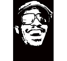 Stencil Stevie Wonder Photographic Print