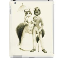 Victorian Cat Series 01 iPad Case/Skin