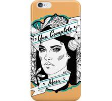 "Debra- ""You Complete Mess"" iPhone Case/Skin"