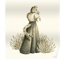 Victorian Cat Series 04 Poster