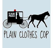 Plain Clothes Cop Photographic Print