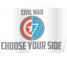 Marvel Civil War - Choose Your Side V.02 Poster