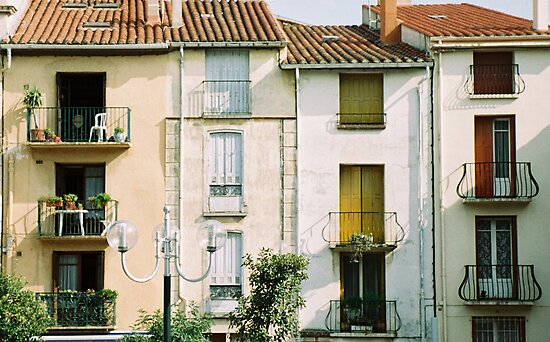 Balconies by Louise Green