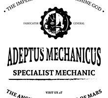 Adeptus Mechanicus - Warhammer by moombax