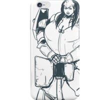 Ample Adventurer - Half-Orc Paladin iPhone Case/Skin