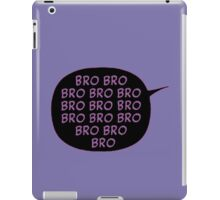 Bro Bro Bro|| Hawkeye (Black&Purple) iPad Case/Skin
