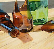 Broken Bottles by JoCzech