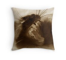 Furry Viper Throw Pillow