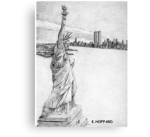 """""""The Statue of Liberty""""  Canvas Print"""