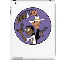 Troy and Abed in Black and Tan iPad Case/Skin