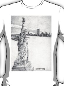 """The Statue of Liberty""  T-Shirt"