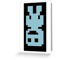 VVVVVV Viridian Upside Down Greeting Card