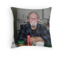 I'm feeling better now! Throw Pillow