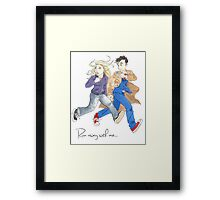 Run Away With Me Framed Print