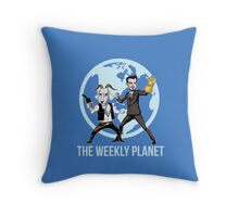 The Weekly Planet Throw Pillow
