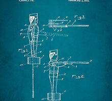 Toy Soldier Patent 1921 by Patricia Lintner