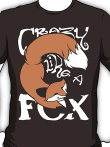 Crazy Like A Fox (Orange) T-Shirt