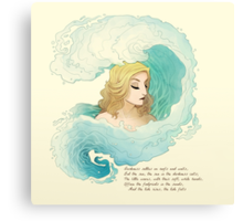 The Tide Rises, The Tide Falls Canvas Print