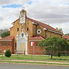 St Patrick's Church, Brewarrina. by Ross Campbell