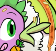 Dragon Roll (MLP) Sticker